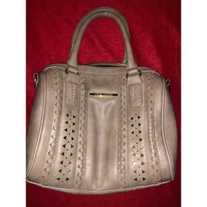 Steve Madden purse with gold accents